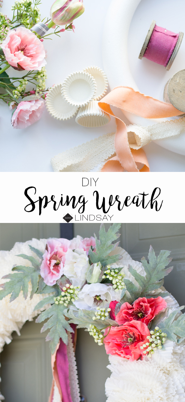 DIY Mother's Day Wreath | See Lindsay
