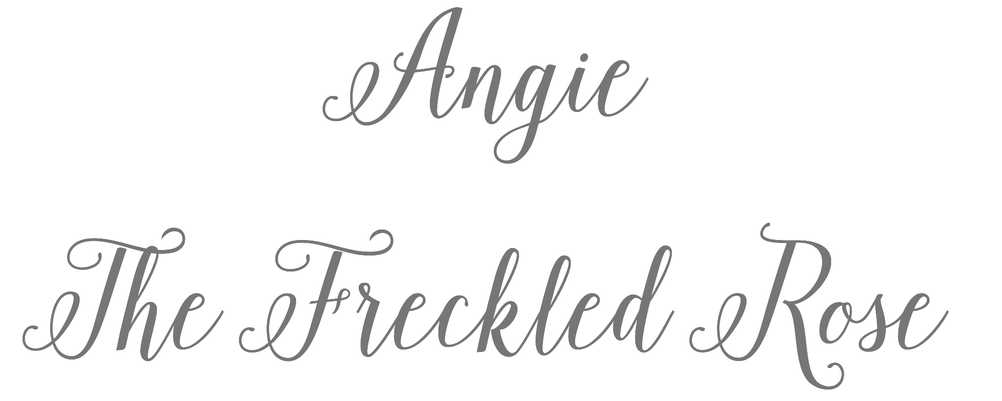 Angie The Freckled Rose | angiethefreckledrose.com