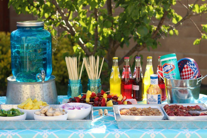 Summer Kebab Party | Gluesticks