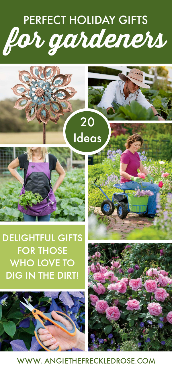 20 Perfect Holiday Gifts For Gardeners | angiethefreckledrose