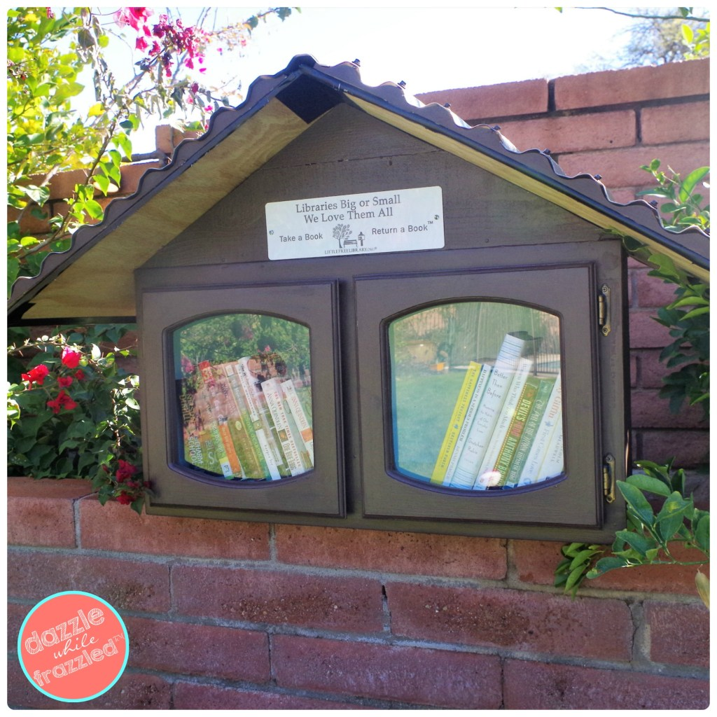 How to Make a Little Free Library | Dazzle While Frazzled