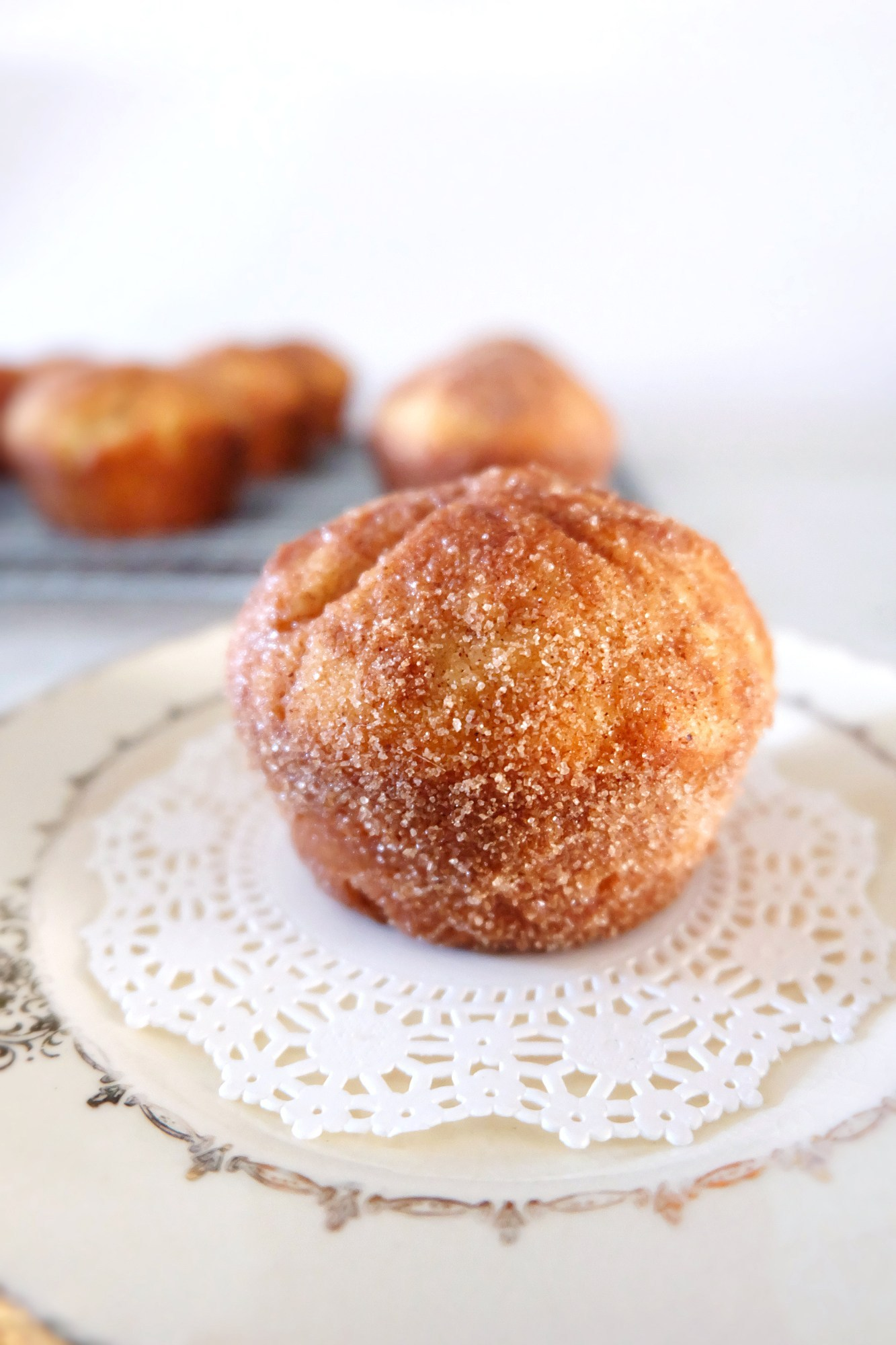 Cinnamon Sugar Breakfast Puffs | Flaky Bakers